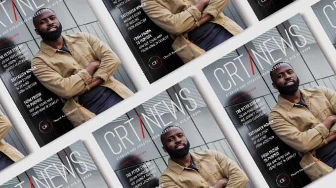 Brand Development, Magazine Design & Cover Shoot for CRT.