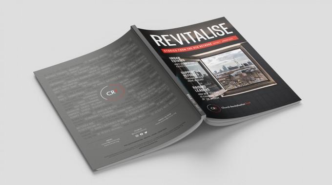 Revitalise Magazine / 2020 branding, design & cover shoot.