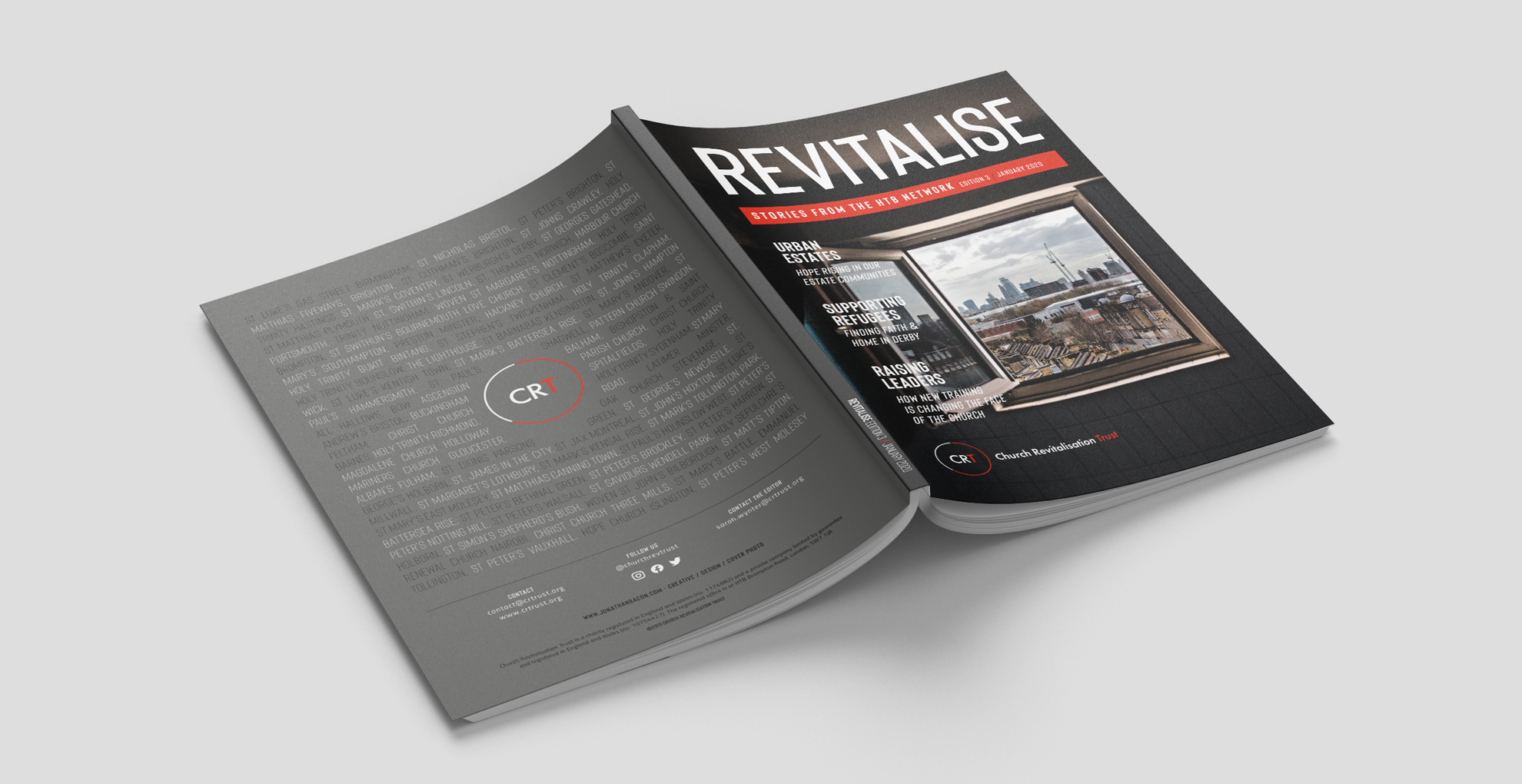 Revitalise Magazine 2020 HTB