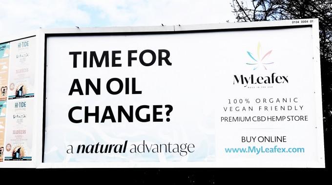 Creative Content & Tagline for MYLeafex CBD Oil